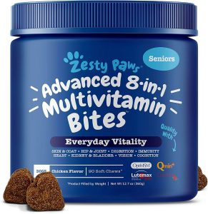 Zesty Paws Multivitamin Senior Dog