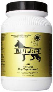 Nutri-Pet Nupro dog supplement powder