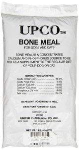UPCo Bone Meal Steamed Bag Supplement