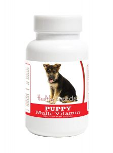 German Shepherd Puppy Multivitamin Chewable Tablets
