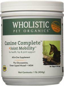 Wholistic Pet Organics Green Lipped Mussel Supplement